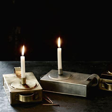 thora candle holder brass  rowen wren