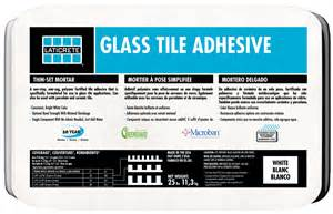 glass tile adhesive