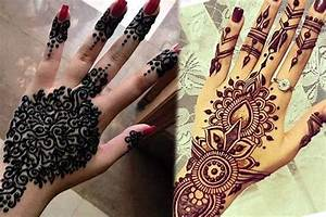 10 Simple and latest Arabic mehndi designs 2017