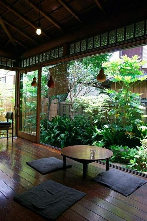 japanese zen interior garden patio table landscape deck porch outdoor atrium designs area decorating room space japan wooden inspired sitting