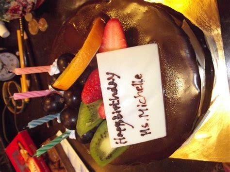michelles tropical birthday cake photo