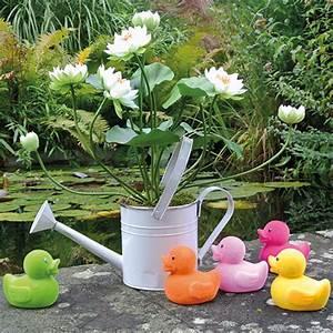 Deco Multicolore : canard d co multicolore assort 11 5cm 6p articles de d coration ~ Nature-et-papiers.com Idées de Décoration
