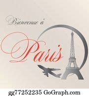 Pictures - Welcome in paris. Stock Photo gg61644888 - GoGraph