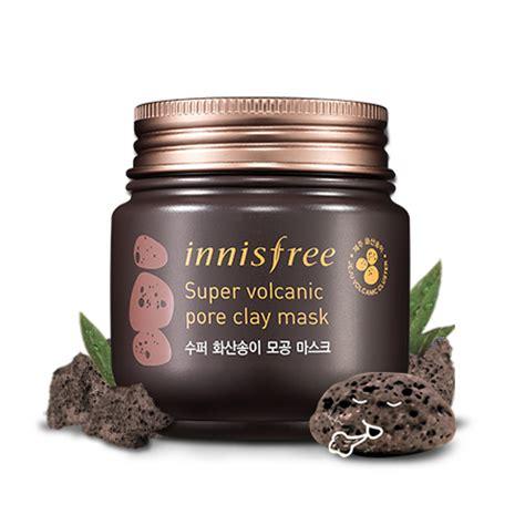 Harga Innisfree Volcanic Pore Clay Mask 100ml skincare innisfree