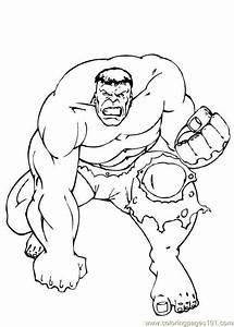 Hulk Coloring Pages incredible hulk coloring pages how to ...