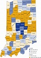 Indiana population projections to 2050 (March-April 2018)