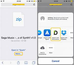 how to open zip files on iphone and ipad best unzip apps With documents app unzip