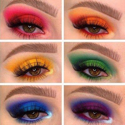 james charles brush set eye makeup steps colorful makeup creative eye makeup