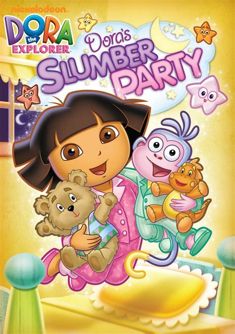 Dora The Explorer Doras Slumber Party Dvd