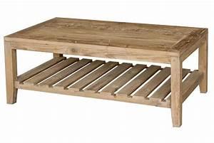 Table Basse Bois Pas Cher : table basse en bois tone design sur sofactory ~ Carolinahurricanesstore.com Idées de Décoration