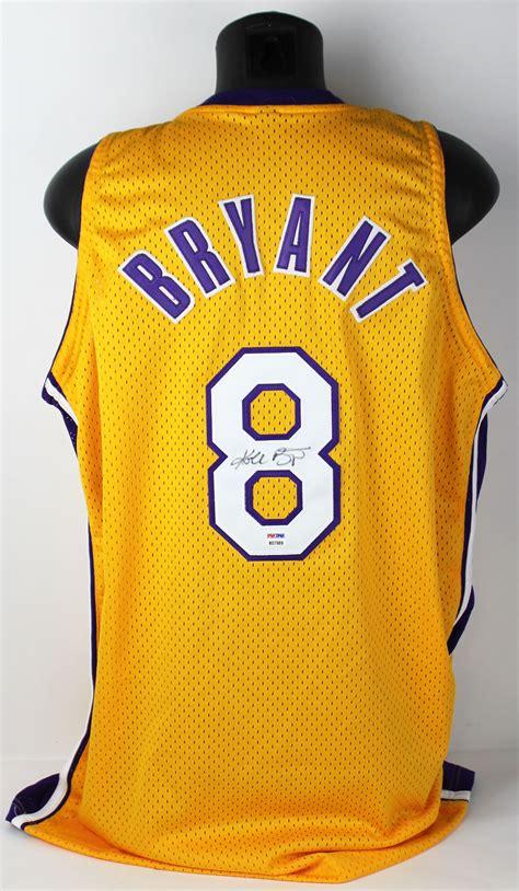 Lot Detail - Kobe Bryant Full Name Signed #8 Los Angeles ...