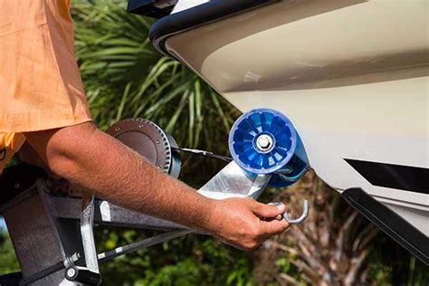 Boat Trailer Safety Chain by How To Launch Your Boat At The R Trailering Boatus
