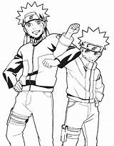 Naruto Coloring Pages Shippuden sketch template