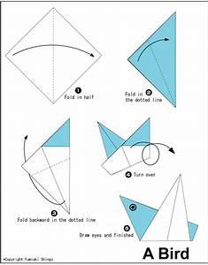 Origami A Bird