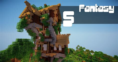 fantasy house time lapse minecraft tutorials pinterest