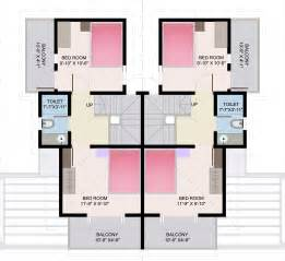 row house floor plan free home plans rowhouse plans
