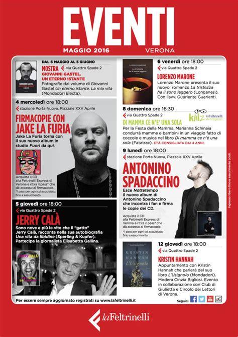 Libreria Feltrinelli Verona by Il Programma Completo Degli Appuntamenti Nel Mese Di
