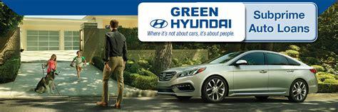Hyundai Springfield Il by Subprime Automotive Loans In Springfield Il Green Hyundai