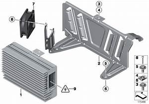 Bmw 740i Top-hifi System Amplifier  Alpina