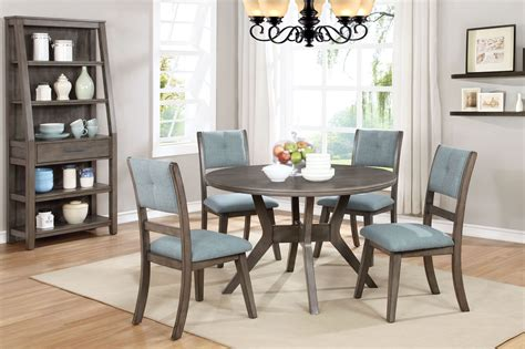 porter gray  dining room set   classic