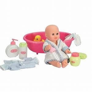 Peignoir De Bain Bébé : poupon b b peignoir bleu prend son bain la grande r cr vente de jouets et jeux default ~ Teatrodelosmanantiales.com Idées de Décoration