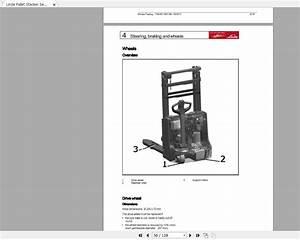 Linde Forklift Series 1169 L10 L12 L14c En 1205 Service