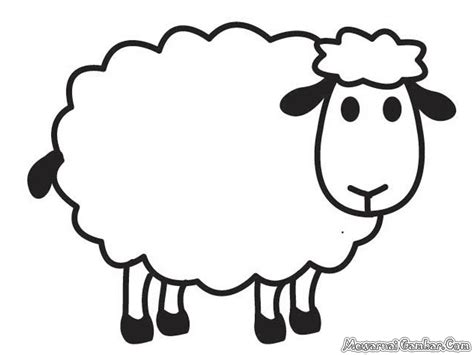 Coloring Kambing by Bunga Coloring Pages Coloring Pages