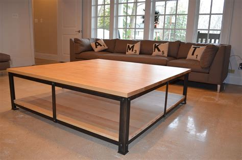 Here are tips for buying a custom coffee table. Handmade Square Coffee Table by KALA studios   CustomMade.com