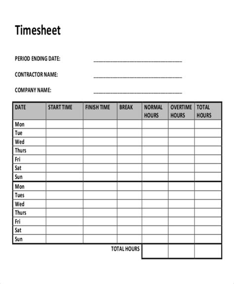 construction time sheet excel template 30 timesheet templates free sle exle format