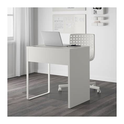 micke bureau blanc micke desk white 73x50 cm ikea