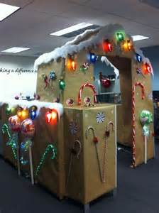 christmas cubicle decorating contest flyer