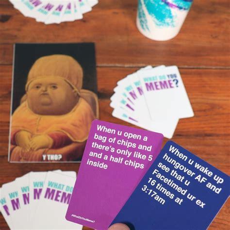 Meme Card Game - what do you meme card game popsugar australia tech