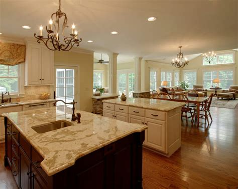 how to open concept kitchen and living room dcor