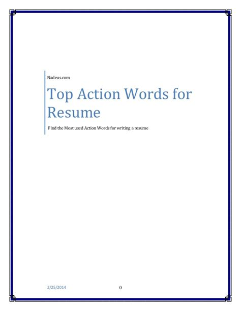 Top Resume Exles 2014 by Resume Words