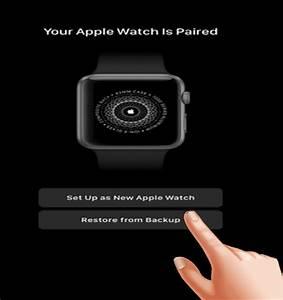 Restore Apple Watch Series 3