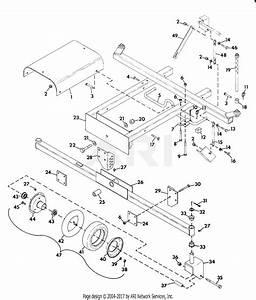 Gravely 37491 60 U0026quot  Deck Pm Gear Parts Diagram For Mower Frame