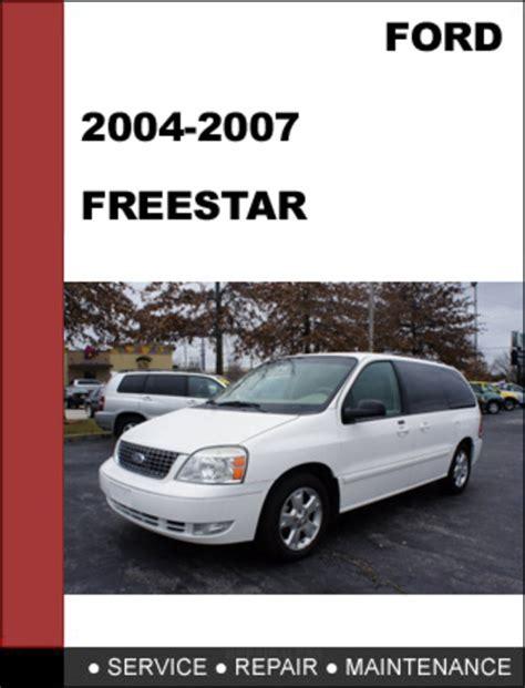ford freestar manual