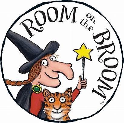 Broom Clipart Witch Cut Activities Gruffalo Halloween