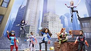 Hasbro Unveils 39Marvel Rising Secret Warriors39 Toy Line