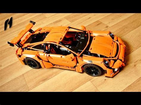lego technic porsche 911 gt3 rs motorized lego technic 42056 porsche 911 gt3 rs sbrick remote
