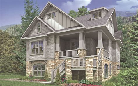 Cottage House Plan With 4 Bedrooms And 3.5 Baths