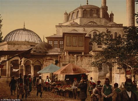 what was the capital of the ottoman fascinating pictures show life in 1890s constantinople