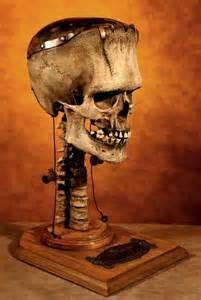 Frankenstein Skull Sculpture