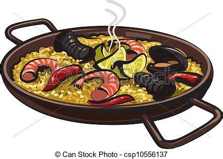 choisir couleur cuisine vecteurs de paella espagnol espagnol paella