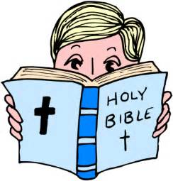 Reading Bible Clip Art