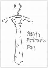 Coloring Tie Pages Fathers Happy Printable Father Procoloring Dad Getcoloringpages Christmas sketch template