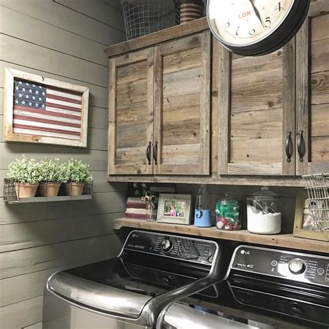 rustic cabinets for laundry room beautiful rustic laundry room for the home pinterest