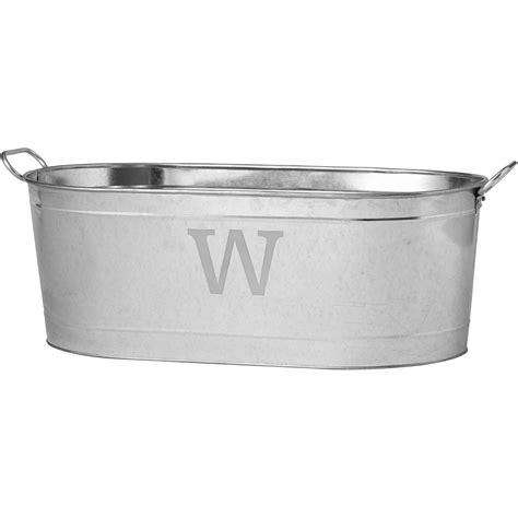 tubs at walmart personalized galvanized beverage tub initial walmart