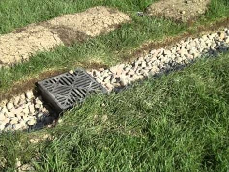 17 best ideas about drain tile on yard