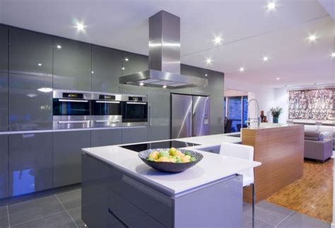 contemporary kitchen cabinets  redefine modern cook room